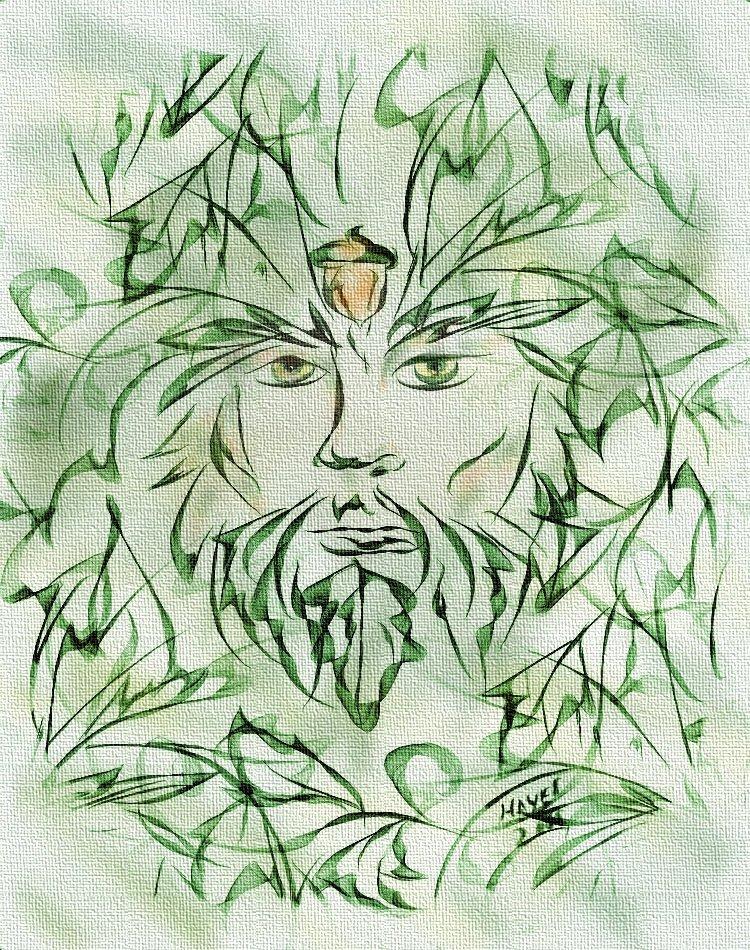 Green man pathways